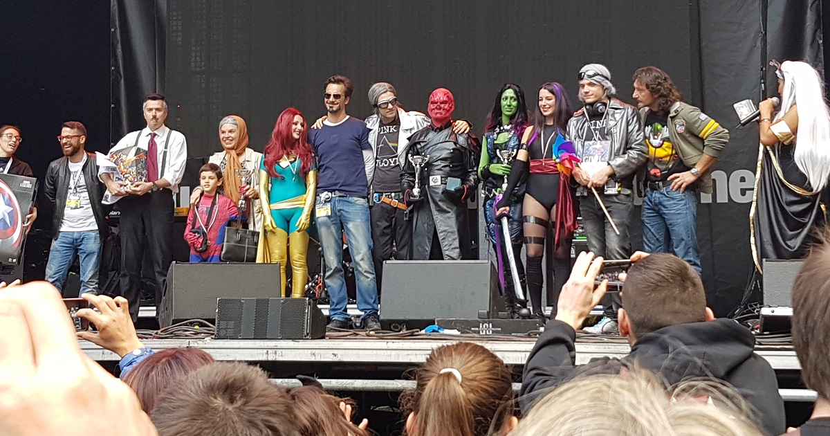 Marvel Cosplay Contest a Lucca Comics 2016