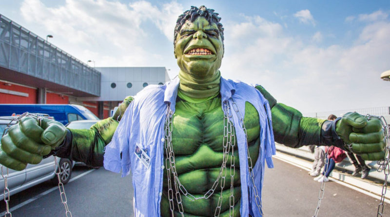 [IT] Hulk by Big Giant Cosplay